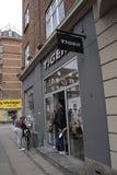 Catena di negozi di DENMARK_tiger Fotografia Stock Libera da Diritti