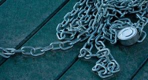 Catena e serratura Fotografie Stock Libere da Diritti
