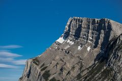 Catena montuosa in Banff immagini stock libere da diritti