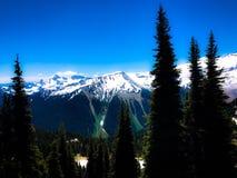 Catena montuosa del monte Rainier Immagini Stock Libere da Diritti
