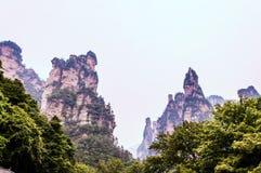 Catena montuosa della galleria di Shili Fotografie Stock Libere da Diritti