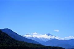 Catena montuosa della Nuova Zelanda Fotografia Stock Libera da Diritti