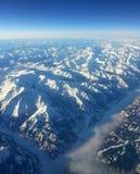 Catena montuosa delle alpi Immagini Stock