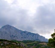 Catena montuosa di Biokovo Immagine Stock