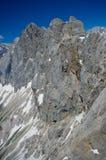 Catena montuosa di Dachstein immagini stock