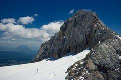 Catena montuosa di Dachstein fotografie stock