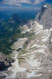 Catena montuosa di Dachstein fotografia stock libera da diritti