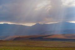 Catena montuosa di Drakensberg Fotografie Stock Libere da Diritti