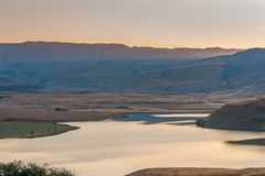 Catena montuosa di Drakensberg Immagine Stock