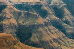 Catena montuosa di Drakensberg Immagine Stock Libera da Diritti