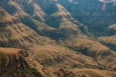 Catena montuosa di Drakensberg Immagini Stock Libere da Diritti