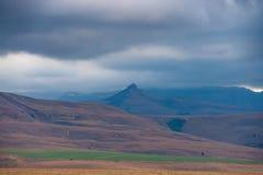 Catena montuosa di Drakensberg Fotografie Stock