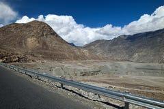 Catena montuosa di Karakoram Immagini Stock