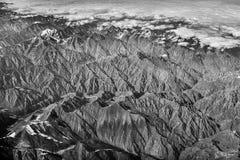 Catena montuosa di Kulun Fotografie Stock