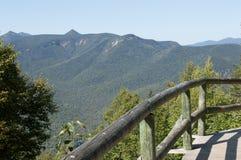 Catena montuosa di New Hampshire, le montagne bianche immagini stock libere da diritti