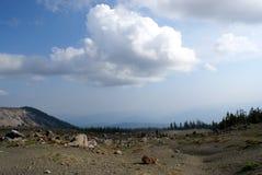 Catena montuosa di Shasta, California, U.S.A. Fotografie Stock Libere da Diritti