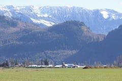 Catena montuosa di Sumas Fotografie Stock