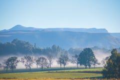 Catena montuosa di Underburg Fotografia Stock