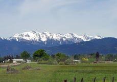 Catena montuosa di Wallowa Fotografia Stock Libera da Diritti