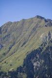Catena montuosa nella valle di Stubai nel Tirolo, Austria Immagini Stock Libere da Diritti