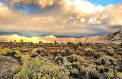 Catena montuosa, sierra orientale Fotografia Stock