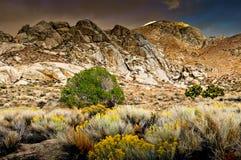 Catena montuosa, sierra orientale Immagine Stock Libera da Diritti