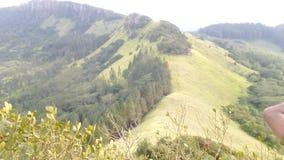 Catena montuosa Sri Lanka di Hanthana fotografia stock libera da diritti