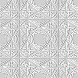 catena trasversale aborigena della pagina del poligono del triangolo di arte del Libro Bianco 3D Immagine Stock Libera da Diritti