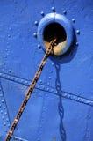 Catene d'ancoraggio Immagine Stock