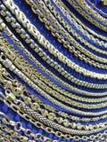 Catene d'argento immagini stock libere da diritti