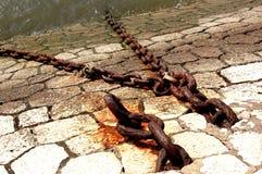 Catene del ferro Fotografia Stock