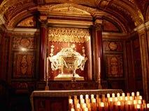 Catene di St Peter, Roma, India fotografia stock
