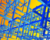 catene di Techno di vettore 3D Fotografia Stock Libera da Diritti