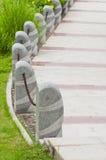 Catene ed alberini del cemento fotografia stock libera da diritti