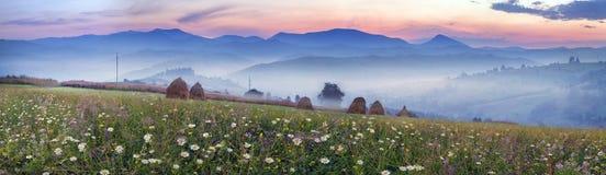 Catene montuose dell'Ucraina Fotografie Stock Libere da Diritti