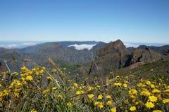 Catene montuose in Madera Portogallo Immagine Stock Libera da Diritti