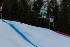 Cater Martin. Val Gardena, Italy 19 December 2014. Cater Martin (Slo) competing in the Audi Fis Alpine Skiing World Cup Men's Downhill Race on the Saslong Course stock images