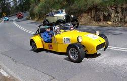 caterham автомобиля резвится желтый цвет Стоковые Фотографии RF