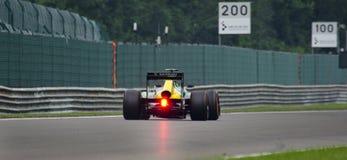 Caterham. A Caterham F1 car during qualifying at the Belgium GP in Spa Stock Images