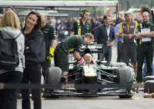 Caterham F1 Royalty Free Stock Photography
