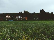 Caterham-Schulfelder Lizenzfreie Stockfotos