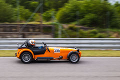 Caterham track day car Stock Images