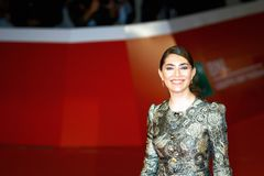 Caterina Murino on the red carpet of the Rome Film Fest 2017 Stock Photos