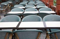 cateringów krzeseł tabel Obrazy Stock