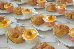 catering Οφσάιτ τρόφιμα στοκ εικόνα