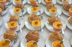 catering Οφσάιτ τρόφιμα στοκ εικόνες
