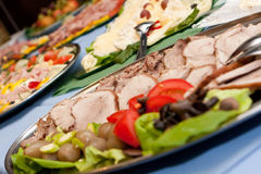 Catering. Food at a party Stock Photography