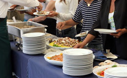 catering Imagem de Stock