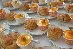 catering Av-plats mat royaltyfri fotografi