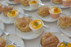 catering Av-plats mat arkivbild